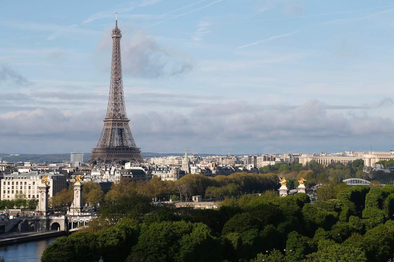 巴黎市區景觀。(法新社)