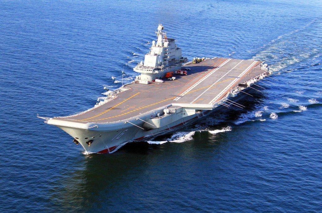 圖為遼寧艦的檔案照。圖/取自中國海軍網