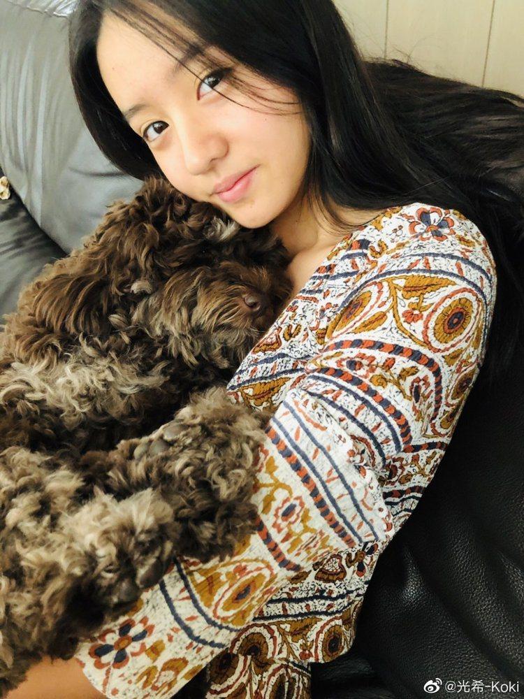 木村光希在微博所分享的照片。圖/擷自微博