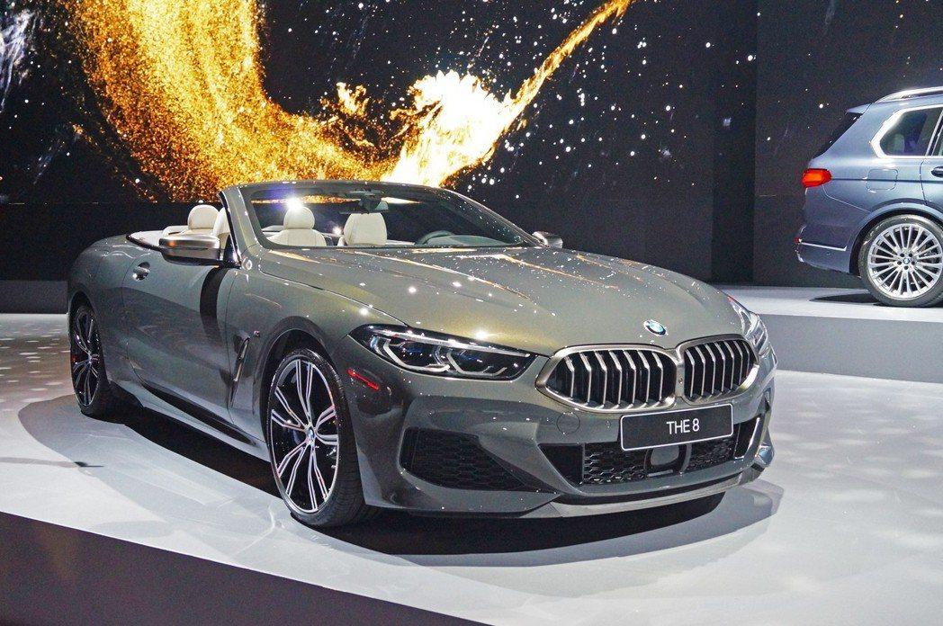 BMW M850i xDrive Convertible為品牌最旗艦敞篷跑車。 ...