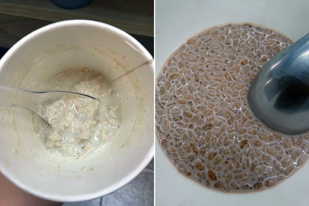其他穀物泡湯照。 圖片來源/爆怨公社