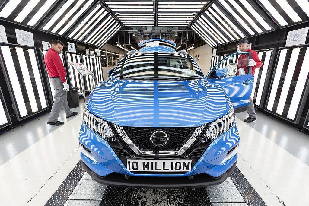 Nissan汽車位於英國的Sunderland廠,主力生產車款為Qashqai都...