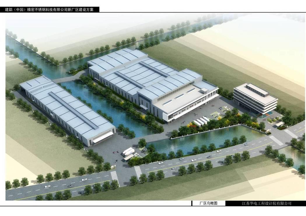 建錩斥資興建全球最大的不銹鋼倉庫,定位在「全球最先進智能裁剪加工配送中心」,主打...