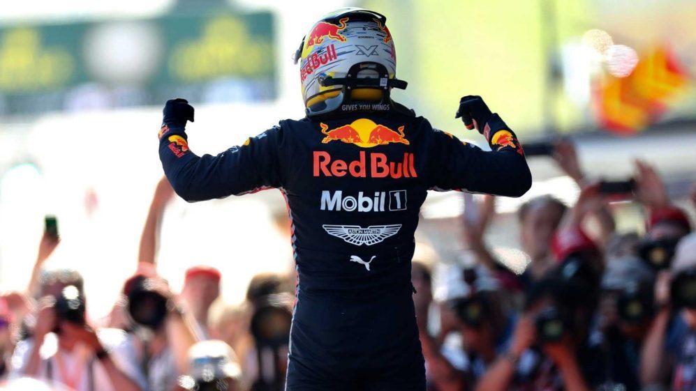Verstappen拿到了久違的分站冠軍。 摘自F1