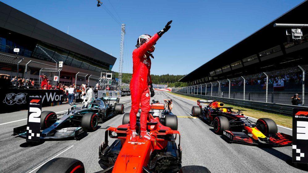 Leclerc拿下生涯第二次的桿位。 摘自F1