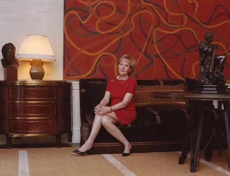 珍妮·希爾與布里斯·馬頓(Brice Marden)〈Orange Rocks,...