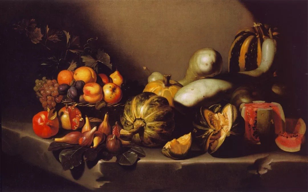〈Still Life with Fruit〉1601
