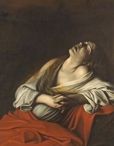 〈Mary Magdalen in Ecstasy〉1606