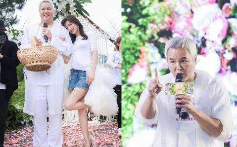 曾有「台灣第一小生」封號的林瑞陽和小10歲張庭結婚近10年,這些年來夫妻經營自創保養品牌,營業額驚人,1個月前2人出席活動,林瑞陽一頭白髮、爆肥身材,被虧是「張庭的奶奶」,刺激他發憤圖強積極瘦身,並...