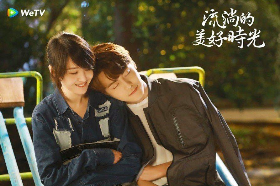 鄭爽(左)與馬天宇私交甚篤。圖/WeTV提供
