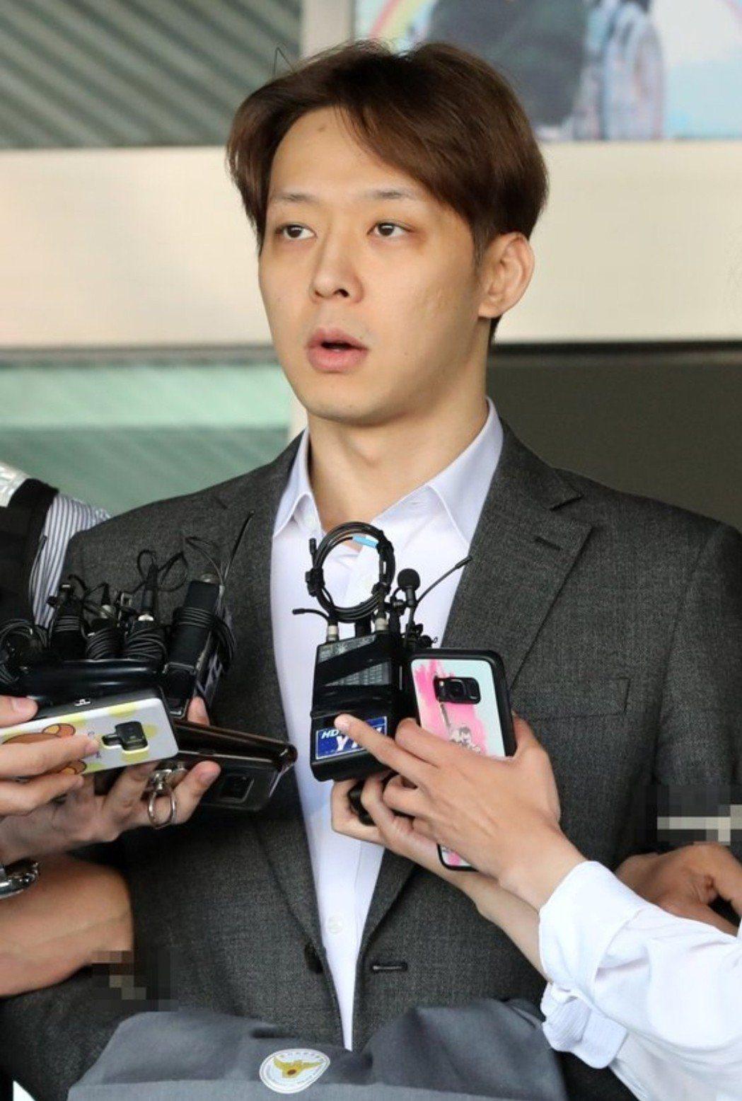朴有天上月初為自己的行為向大眾道歉。圖/摘自news1