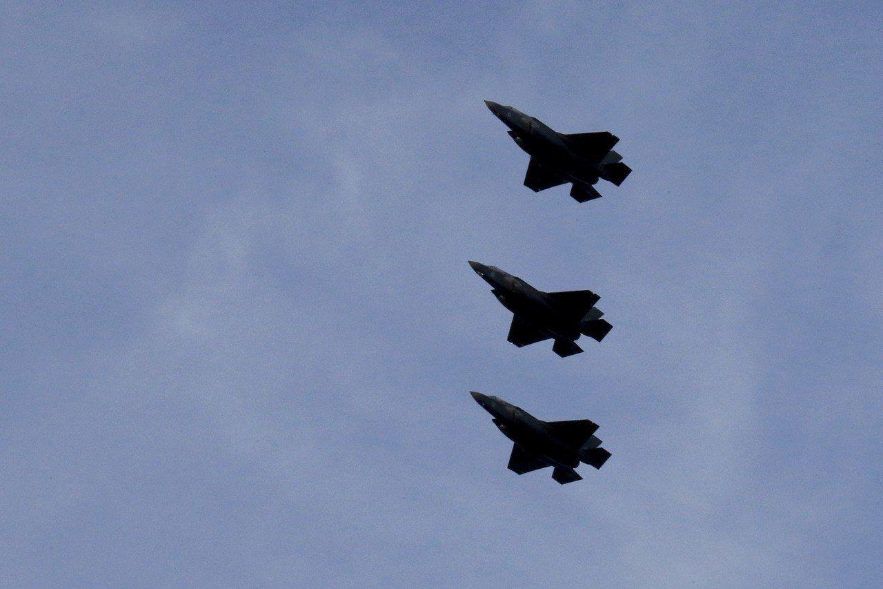 川普將在國慶日的閱兵儀式上大秀軍力,包括F-35戰機。美聯社