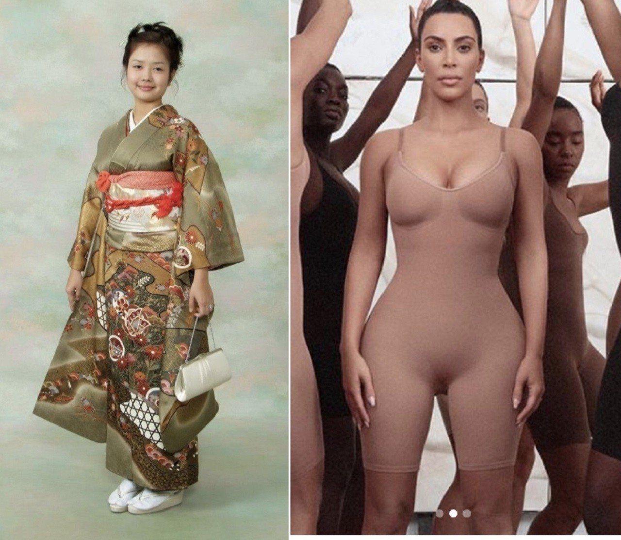 美國實境秀女星金卡黛姍日前推出新的塑身內衣品牌「Kimono Intimates...