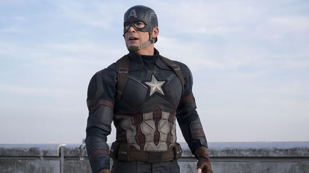 美國隊長。圖/迪士尼提供