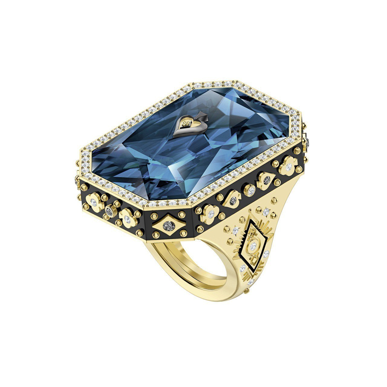 施華洛世奇TAROT MAGIC 戒指/售價7,990元。圖/施華洛世奇提供