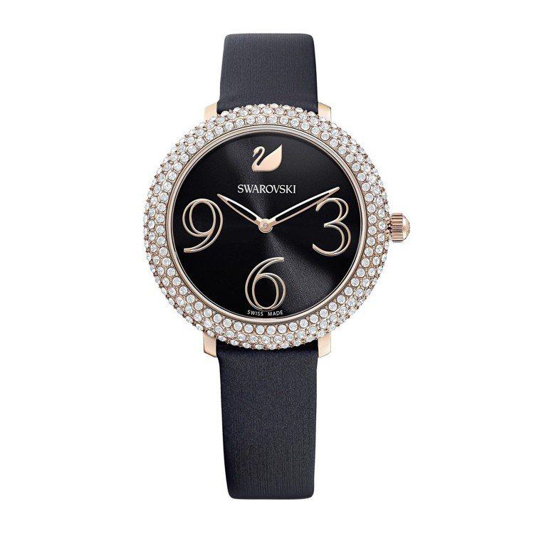 施華洛世奇CRYSTAL FROST 腕錶/售價14,900元。圖/施華洛世奇提...