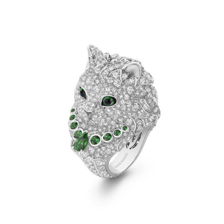 以寶詩龍之家豢養寵物為靈感的WLADIMIR I & II貓首戒指,教人驚呼可愛...