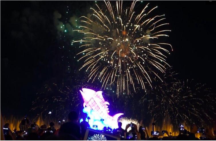 今年年初台灣燈會在屏東,大鵬灣國家風景區湧入千萬人次遊客數。圖/本報資料照片