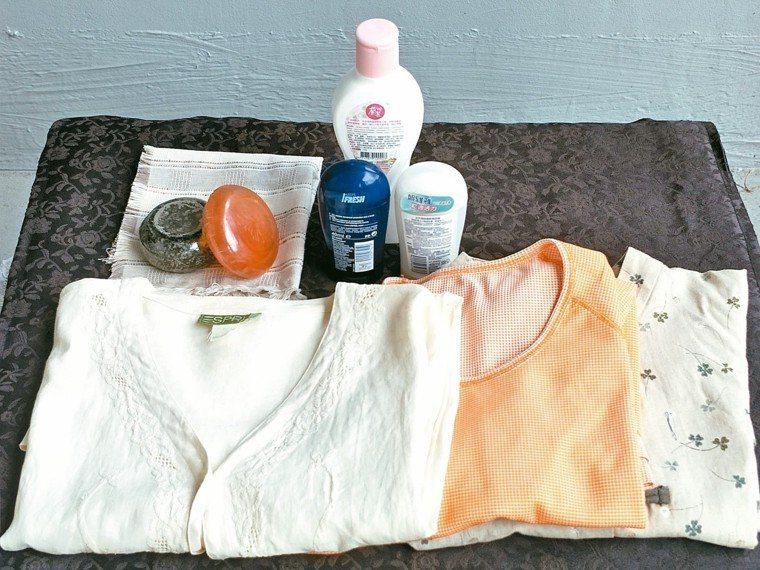 衣服以透氣吸汗的棉麻織品為佳,化學纖維布料不適合悶熱夏天。 圖/吳芳枝(台中市)