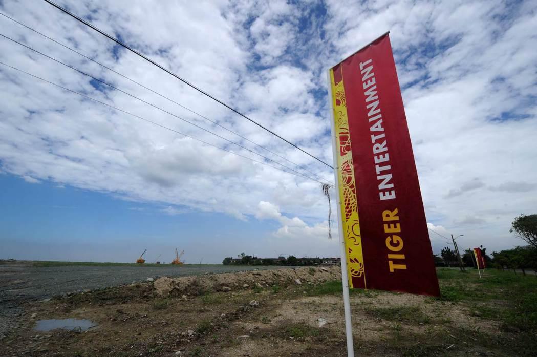 菲律賓在馬尼拉灣設立博弈特區,吸引許多外國博弈業者投資和開發。 (法新社)