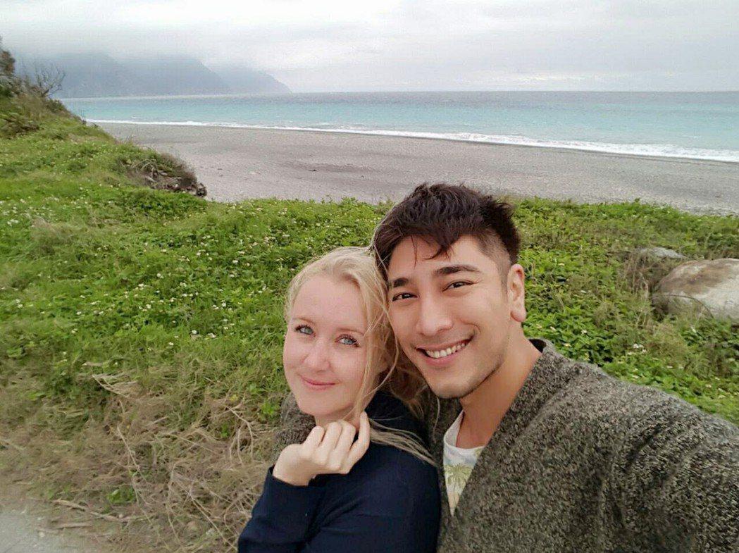 羅平與Madlen交往3年決定互許終生。圖/TVBS提供