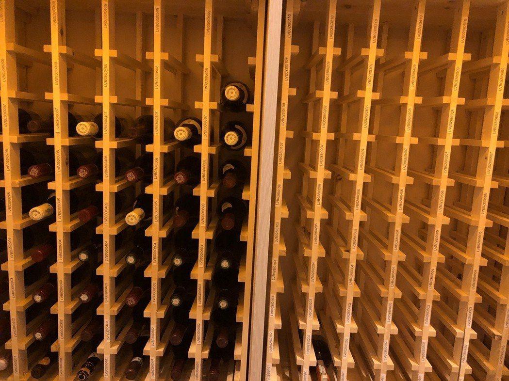 CellWine酒窖內部。 CellWine /提供