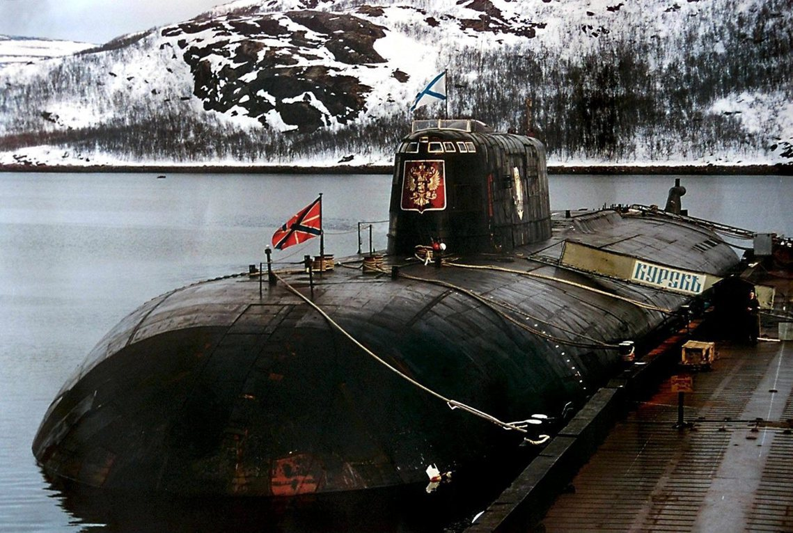 事發的北莫爾斯克水域,也是2000年俄國核子潛艇「庫斯克號」(Kursk, K-...
