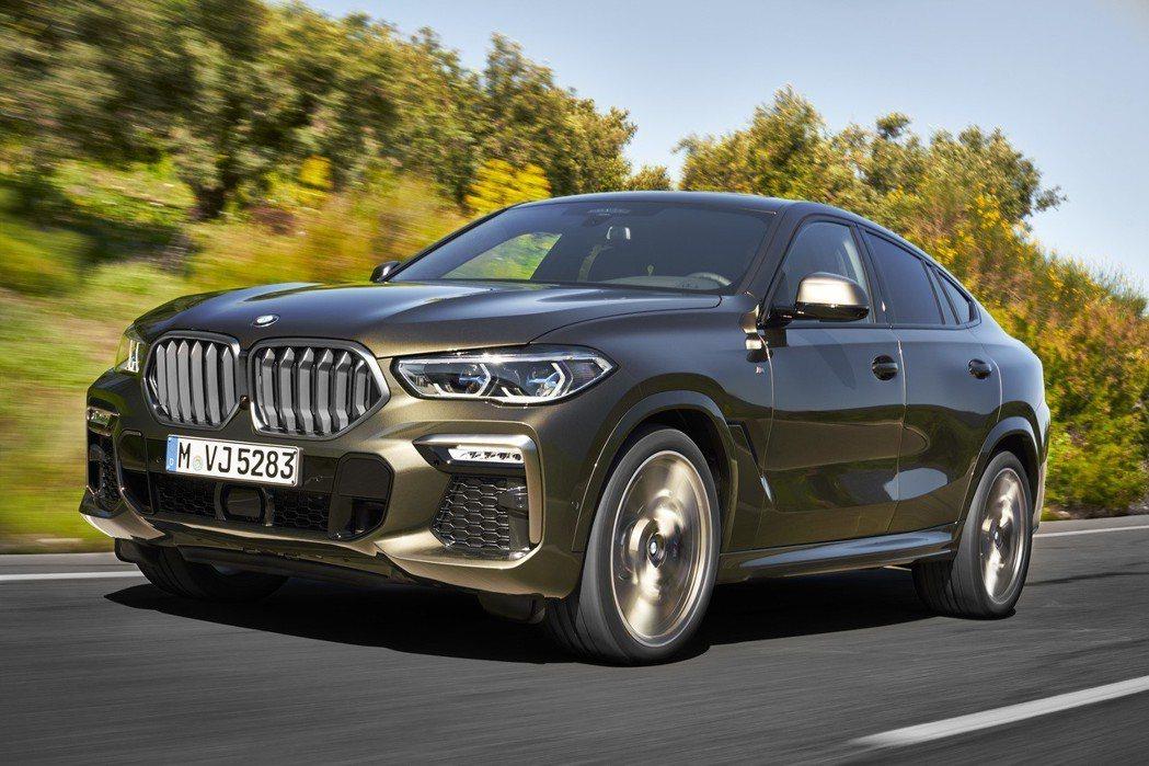 第三代BMW X6提前現身。 摘自BMW