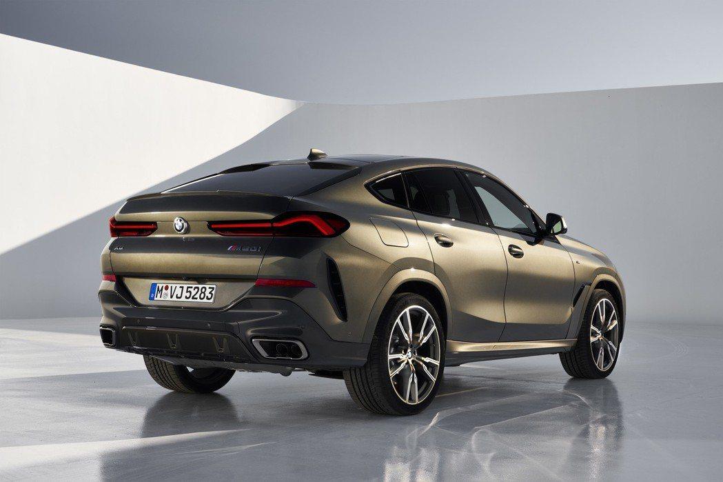 第三代BMW X6將於九月份的法蘭克福車展中正式發表,並預計在11月就會陸續於全...