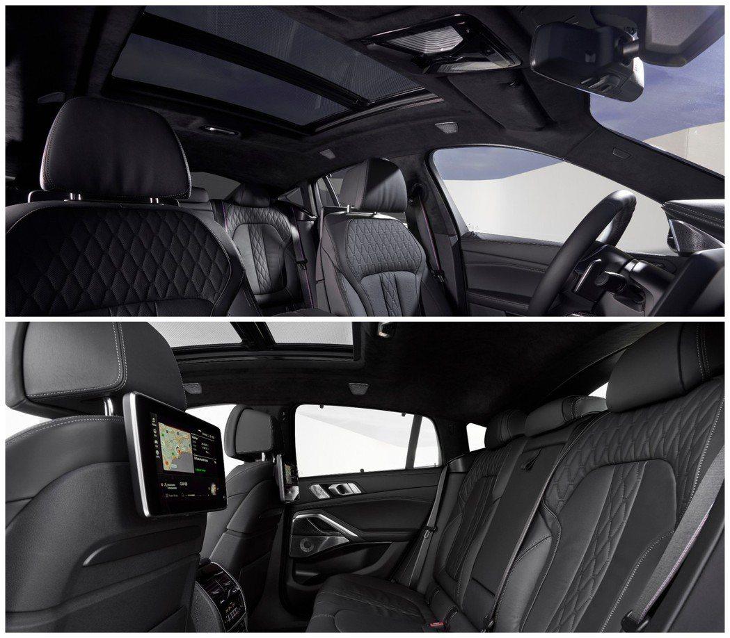 第三代BMW X6 車室。 摘自BMW