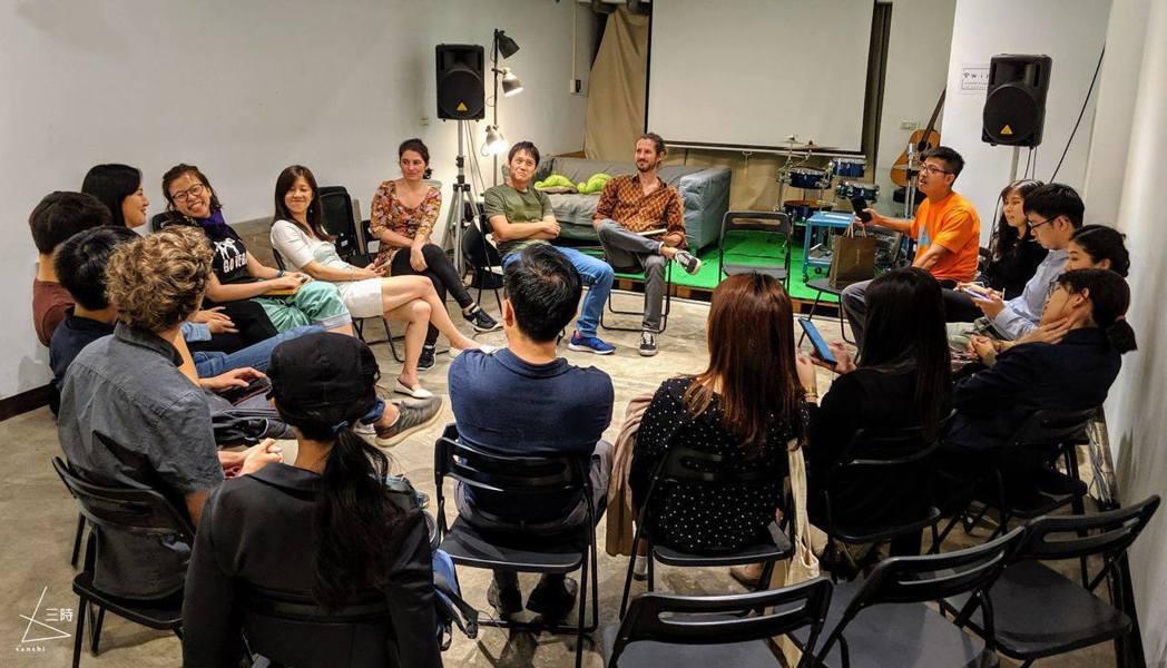 聚集各式與綠色產業相關的組織人士,共同針對環境議題提出討論。 圖/三時生活實驗室...