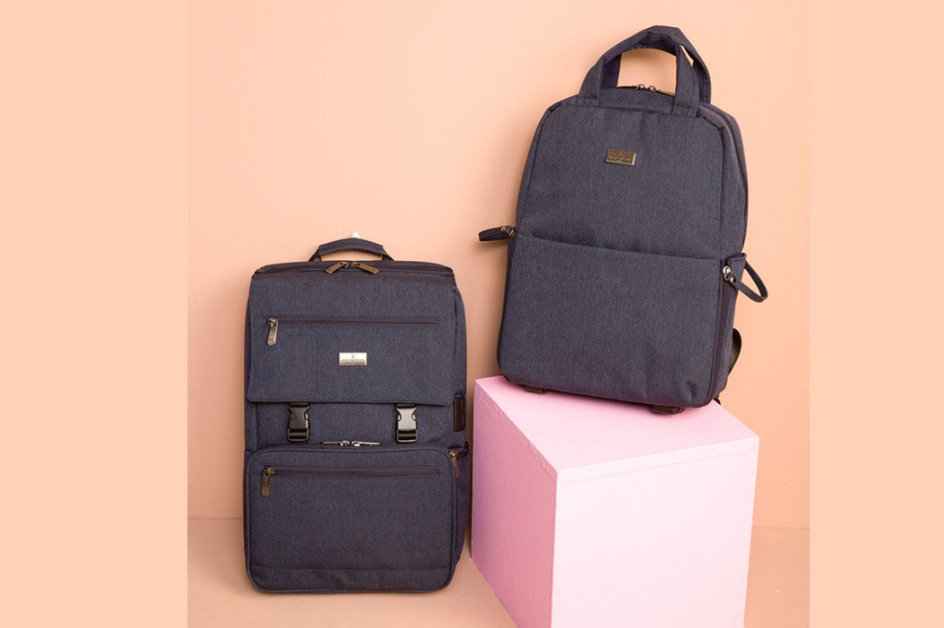 MONTAGUT丹寧機能休閒後背包,針對現代3C使用者提供了眾多貼心細節設計,提...