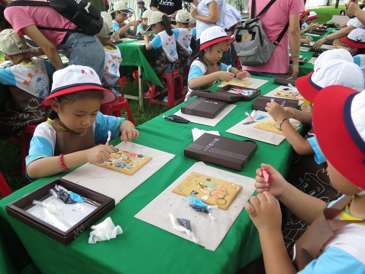 郭元益糕餅博物館體驗課程。記者張裕珍/攝影