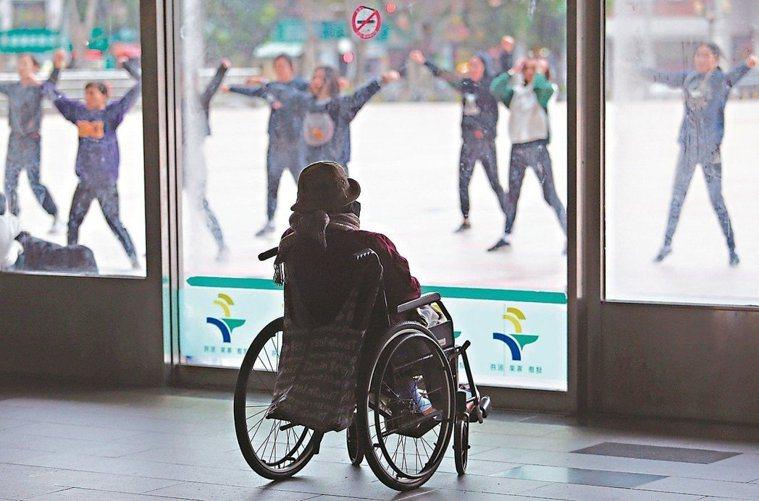 台灣邁入高齡化社會。圖/聯合報系資料照片