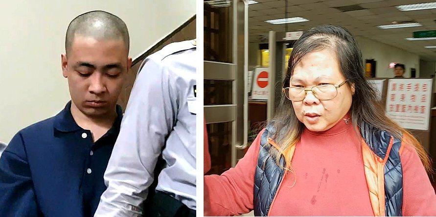 男子莊嘉億(左圖)受入監服刑的女友託付,照顧她4歲的女兒,卻拿鐵棍痛毆虐死她,高...
