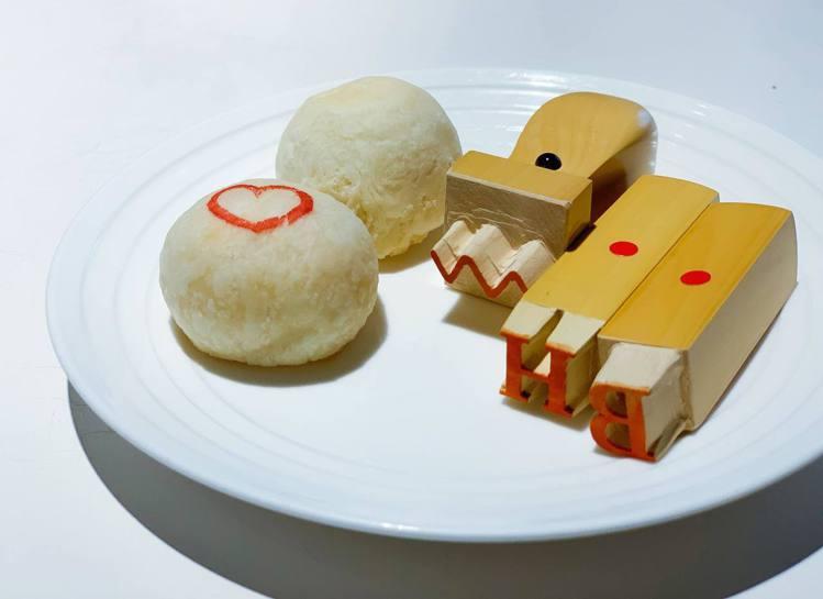 郭元益首推「客製」糕點服務,讓送禮更貼心。記者徐力剛/攝影