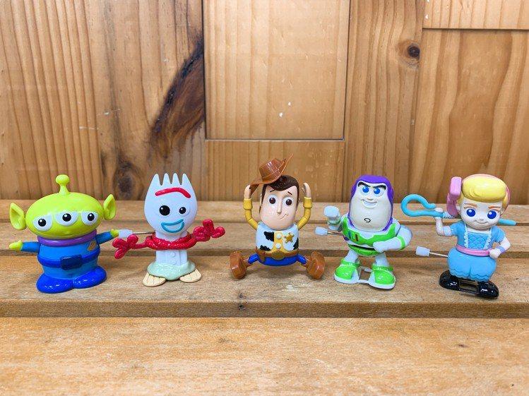 7-ELEVEN獨家推出5款《玩具總動員4》發條公仔,7月9日起限4,000店販...