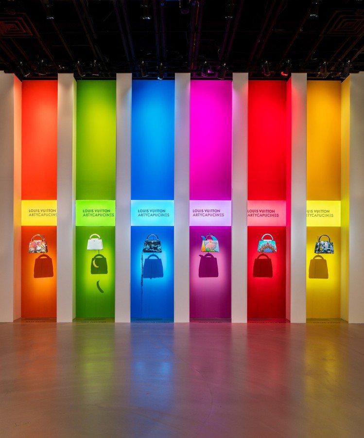 展覽最大亮點是Artycapucines系列,也是最新的藝術交流作品,賦予Cap...