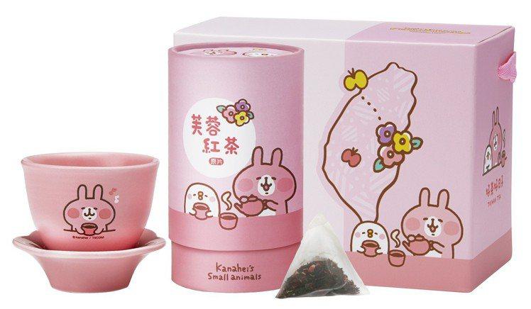 7-ELEVEN中秋節預購推出「卡娜赫拉的小動物」芙蓉紅茶,售價399元。圖/7...