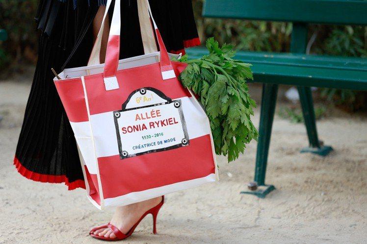 ALLEZ RYKIEL BAG環保袋的概念來自市集。圖/MINOSHIN美之心...