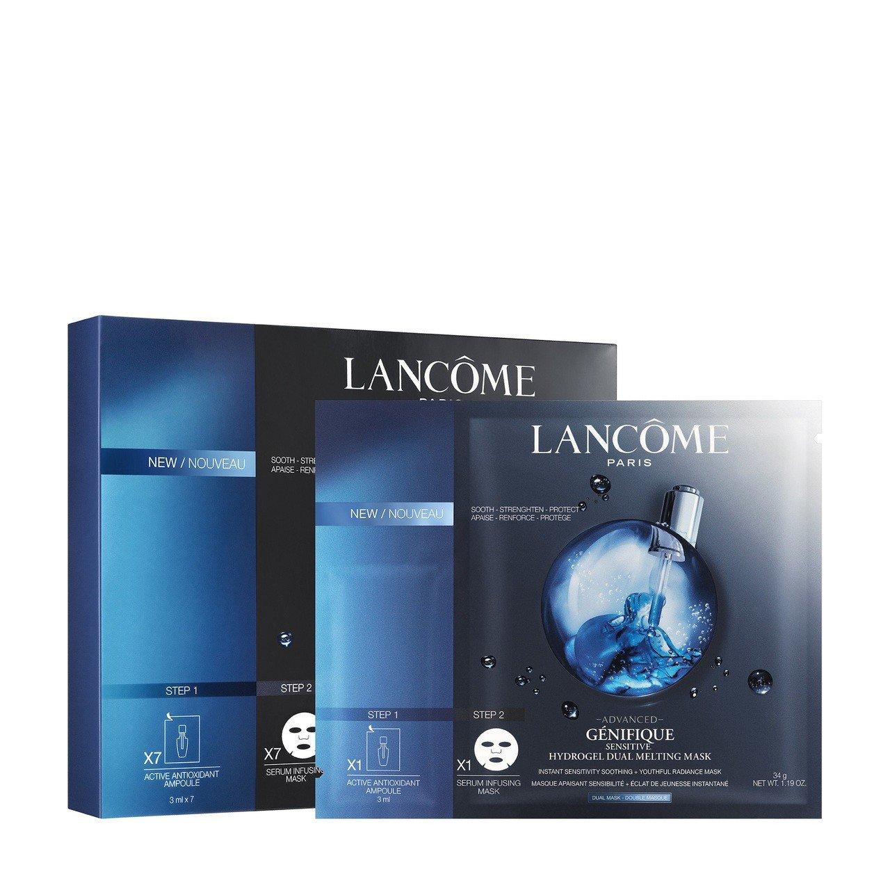 蘭蔻超進化肌因雙效安瓶面膜(7片入)/3,200元。圖/蘭蔻提供