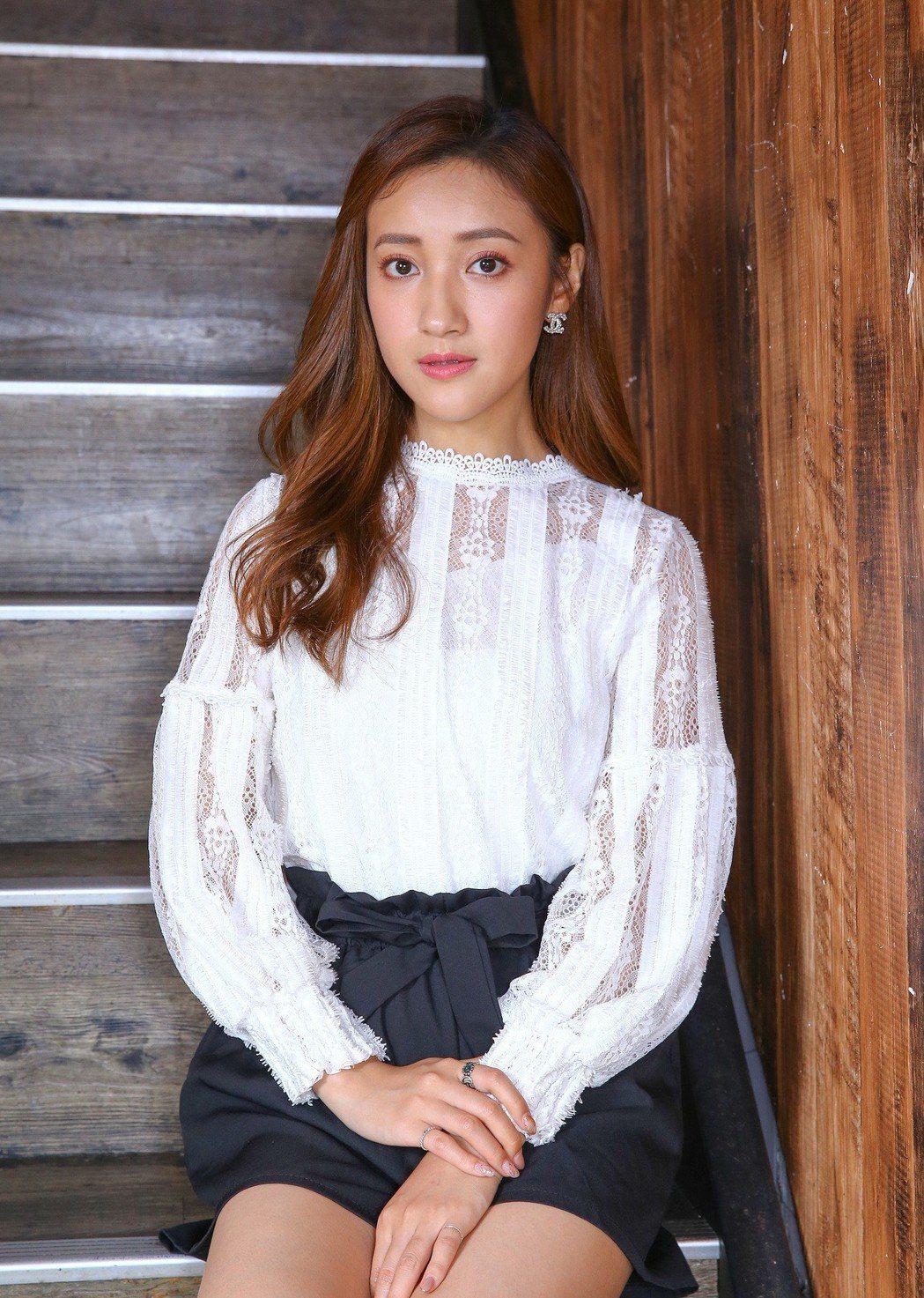 夏宇禾因演出「實習醫師鬥格」被封「最美女醫」。記者陳柏亨/攝影