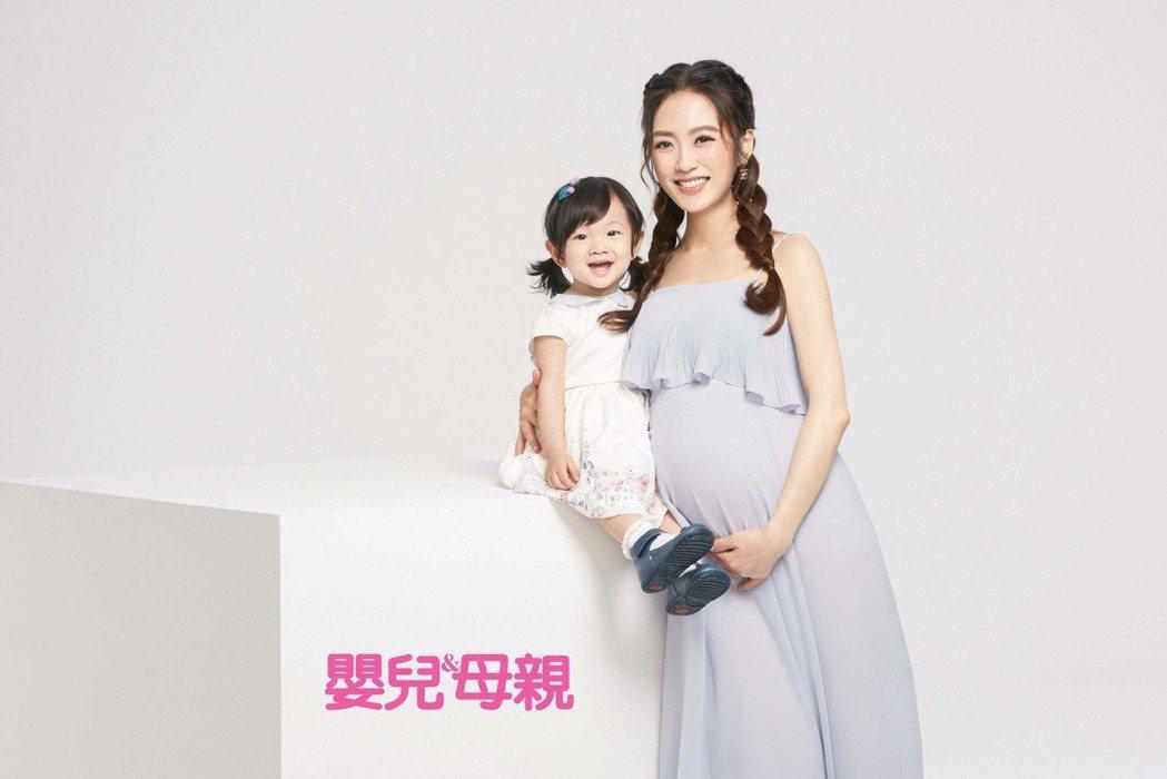 楊千霈的第二胎即將出生。圖/嬰兒與母親雜誌提供