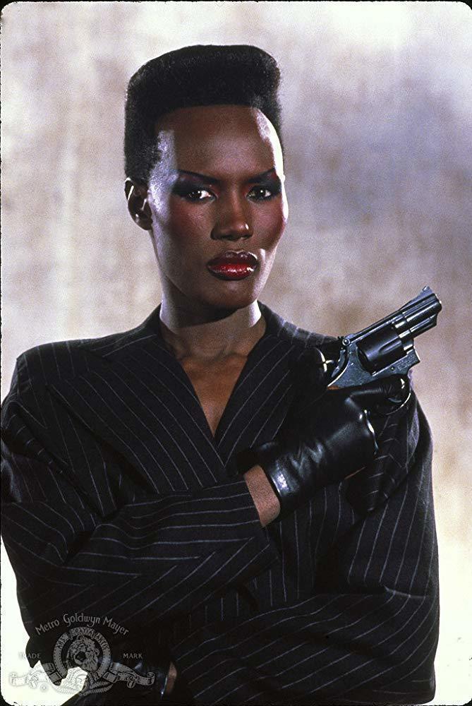 葛麗絲瓊斯本來要在「Bond 25」回歸,卻很快被惹怒、退出。圖/摘自imdb