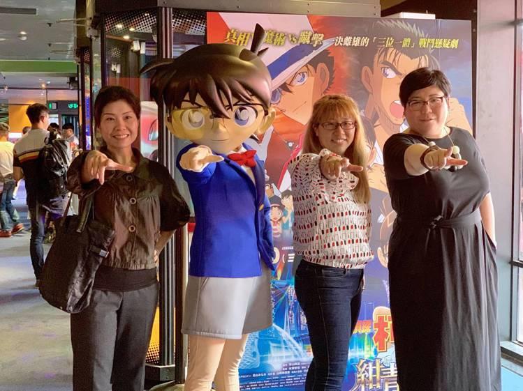 《名偵探柯南:紺青之拳》7/10在台上映。記者張芳瑜/攝影