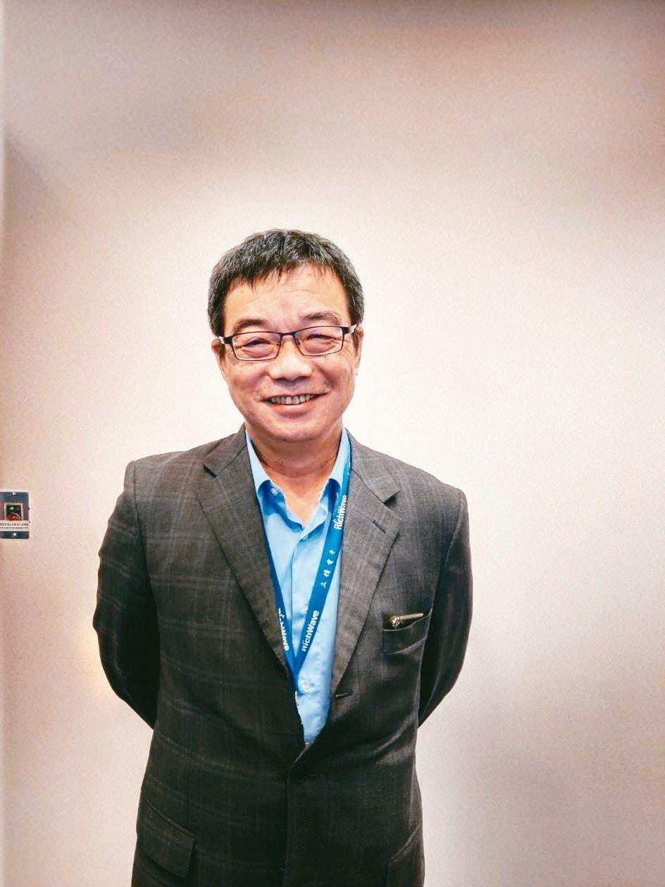 立積董事長馬代駿 記者鐘惠玲╱攝影
