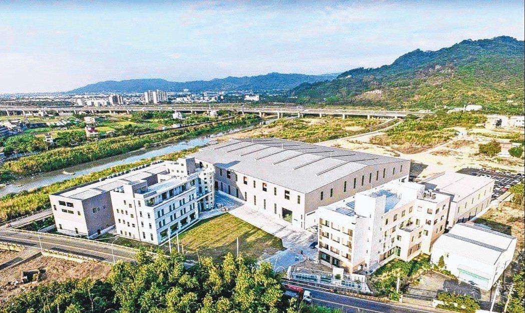 天承鍛造坐落於南投市的現代化廠房。 天承/提供