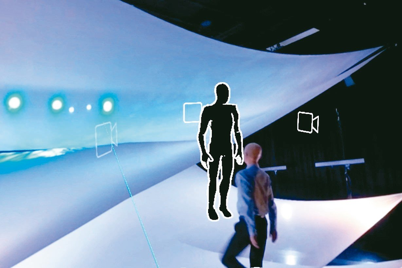 「Archive or Alive:劉守曜獨舞數位典藏」VR介面讓觀者可以「同時...