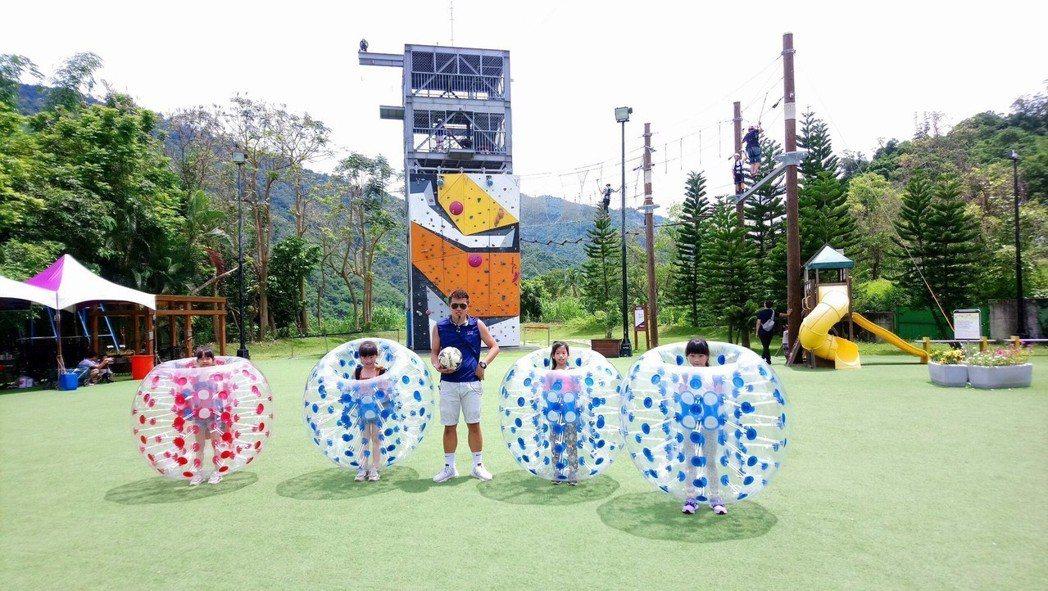 除了天然景緻外,「趣淘漫旅‧台南」與其他飯店最大的不同,就是玩法創新;「趣淘漫旅...