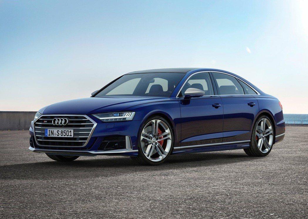 Audi S8。 摘自Audi